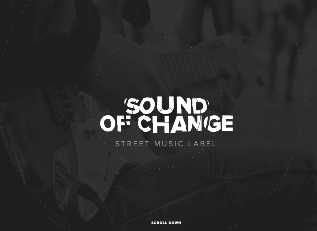 Sound of charge, tendencias diseño web